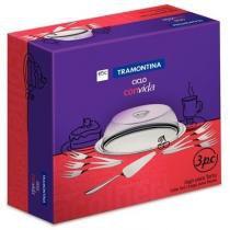 Jogo para Torta Inox Ciclo 9 peças 64510/880 - Tramontina - Tramontina