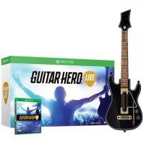 Jogo para xbox one guitar hero live bundle + 1 guitarra wireless activision - Activision