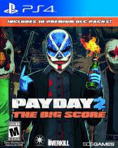Jogo Payday 2: The Big Score Ps4 - 505 Games