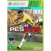 Jogo PES 2018 Pro Evolution Soccer 2018 Xbox 360 - Konami