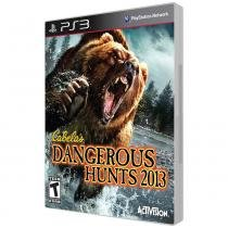 Jogo Playstation 3 - Cabelas Dangerous Hunts 2013 - Incomp