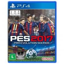 Jogo Pro Evolution Soccer Pes 2017 Ps4 - Konami