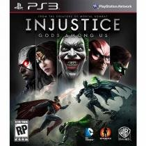 Jogo PS3 Injustice Gods Among US Ed Limitada - Jogos PlayStation 3