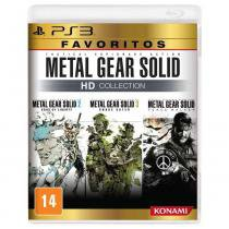 Jogo PS3 Metal Gear Solid HD Collection Favoritos - Jogos PlayStation 3