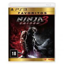 Jogo PS3 Ninja Gaiden 3 Favoritos - Jogos PlayStation 3