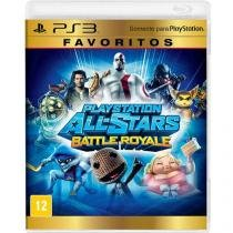 JOGO PS3 PLAYSTATION ALL STAR BATTLE FAVORITO - Disney