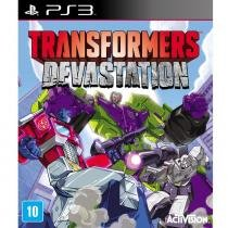 JOGO PS3 TRANSFORMERS DEVASTATION - Activision Blizzard