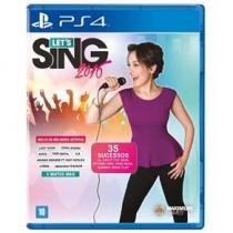jogo PS4 LETS SING - Sony