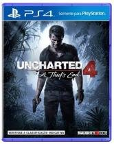 JOGO PS4 UNCHARTED 4 A THIEFS END - Sony