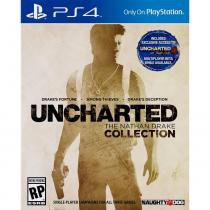 Jogo PS4 Uncharted The Nathan Drake Collection - Sony