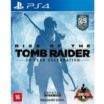 Jogo Rise Of The Tomb Raider: 20 Year Celebration - PS4 - Square enix