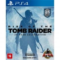 Jogo Rise of the Tomb Raider Ps4 - Crystal Dynamics