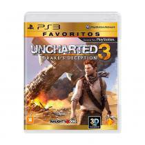 Jogo Uncharted 3: Drakes Deception - PS3 - Naughty dog