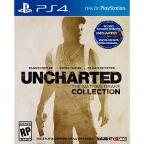 Jogo Uncharted: The Nathan Drake Collection - PS4 - Sony studios