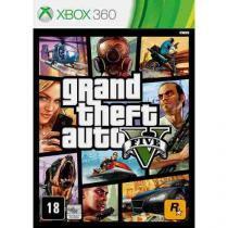 Jogo X360 GTA V - Jogos Xbox 360