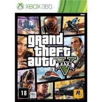 Jogo Xbox 360 GTA - Grand Theft Auto V - Rockstar - Rockstar games