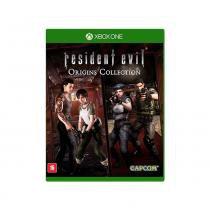 JOGO XONE RESIDENT EVIL ORIGINS: COLLECTION BR - Jogos Xbox One