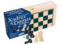 Jogos Xadrez e Damas - Xalingo 6006.5