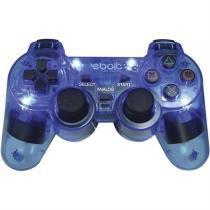 Joypad Play 2 Analogico Com 4 Leds Eb802 Azul Ebolt -