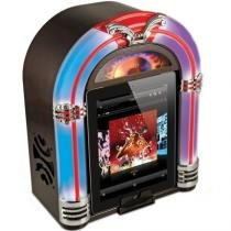 Jukebox Retro Dock Station Ipad Iphone E Ipod Isp18 Ion - Íon