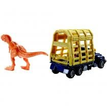 Jurassic World Transporte Trapper Trailer - Mattel -