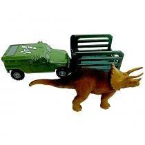 Jurassic World Transporte Tricera-Tracker - Mattel -