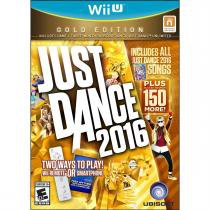 Just dance 2016: gold edition - wii u - Nintendo