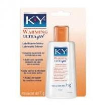 K-Y  WARMING ULTRA Gel Lubrificante Íntimo 71g Johnsons - Johnson  johnson