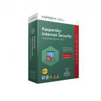 Kaspersky Antivirus Internet Security - Multidispositivos 2017 - 1 Dispositivo + 1 Grátis - 1