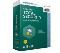 Kaspersky Antivirus Total Security - Multidispositivos - 3 Dispositivos + 1 Gratis - 1