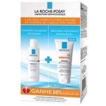 Kerium DS Shampoo Anticaspa 125ml + Máscara Hidratante Reparadora 200ml - LA ROCHE-POSAY