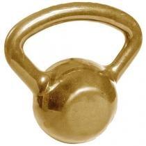 Kettlebell 8kg Emborrachado Dourado Acte Sports - S13