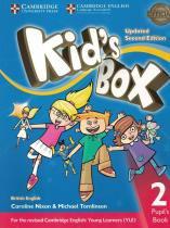 Kids box 2 pb - british - updated 2nd ed - Cambridge university