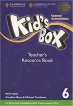 Kids box 6 trb with online audio - british - updated 2nd ed - Cambridge audio visual  book teacher