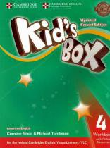 Kids box american english 4 wb with online resources - updated 2nd ed - Cambridge university
