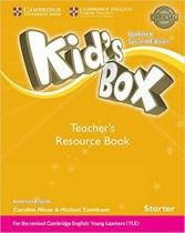 Kids box american english starter trb - updated 2nd ed - Cambridge audio visual  book teacher
