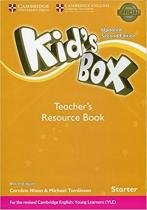 Kids box starter trb with online audio - british - updated 2nd ed - Cambridge audio visual  book teacher