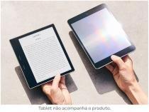 "Kindle Oasis Amazon Tela 7"" 8GB Wi-Fi Luz Embutida à Prova DÁgua Preto"