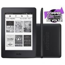 "Kindle Paperwhite Amazon Tela 6"" 4GB Wi-Fi Luz Embutida 3G Preto"