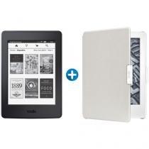 """Kindle Paperwhite Amazon Tela 6"""" 4GB Wi-Fi - Luz Embutida + Capa para Kindle Paperwhite 6"""""""