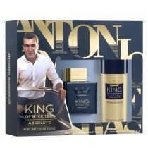 King of Seduction Absolute Antonio Banderas - Masculino - Eau de Toilette - Perfume + Desodorante Spray - Antonio Banderas