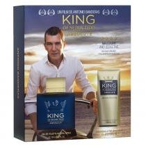 King of Seduction Absolute Antonio Banderas - Masculino - Eau de Toilette - Perfume + Pós Barba - Antonio Banderas