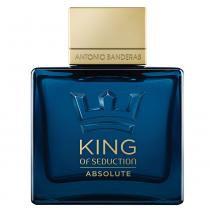 King of Seduction Absolute Antonio Banderas - Perfume Masculino - Eau de Toilette - 100ml -