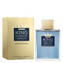 King of Seduction Absolute Antonio Banderas - Perfume Masculino - Eau de Toilette - 200ml - Antonio Banderas