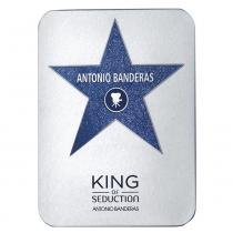 King of Seduction Deluxe Metalbox Antonio Banderas - Perfume Masculino - Eau de Toilette - 200ml - Antonio Banderas