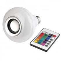 kit 02 - lampada caixa de som bluetooth Multiled com Controle - Mega page