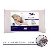 Kit 1 Travesseiros Nasa Viscoelástico 16cm + Protetores Com Ziper - Master comfort