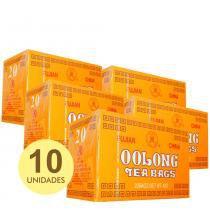 Kit 10x Chá Oolong - Oolong Tea Bags 40g (20 Sachês de 2g) Importado Fujian -