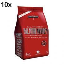 9ed9a6bf0 Kit 10X Nutri Whey Protein - 907g Refil Chocolate - IntegralMédica -  Integralmedica