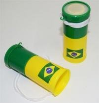 Kit 12 Mini Corneta Buzina Som Barulho Torcida Copa do Mundo Jogos Brasil Torcedor - Ab midia
